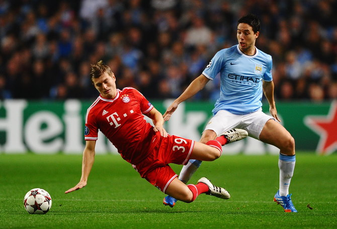Manchester City v FC Bayern Muenchen - UEFA Champions League