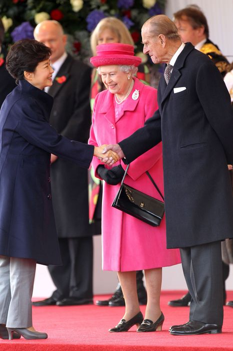 South Korean President Attends The Ceremonial Welcome In London