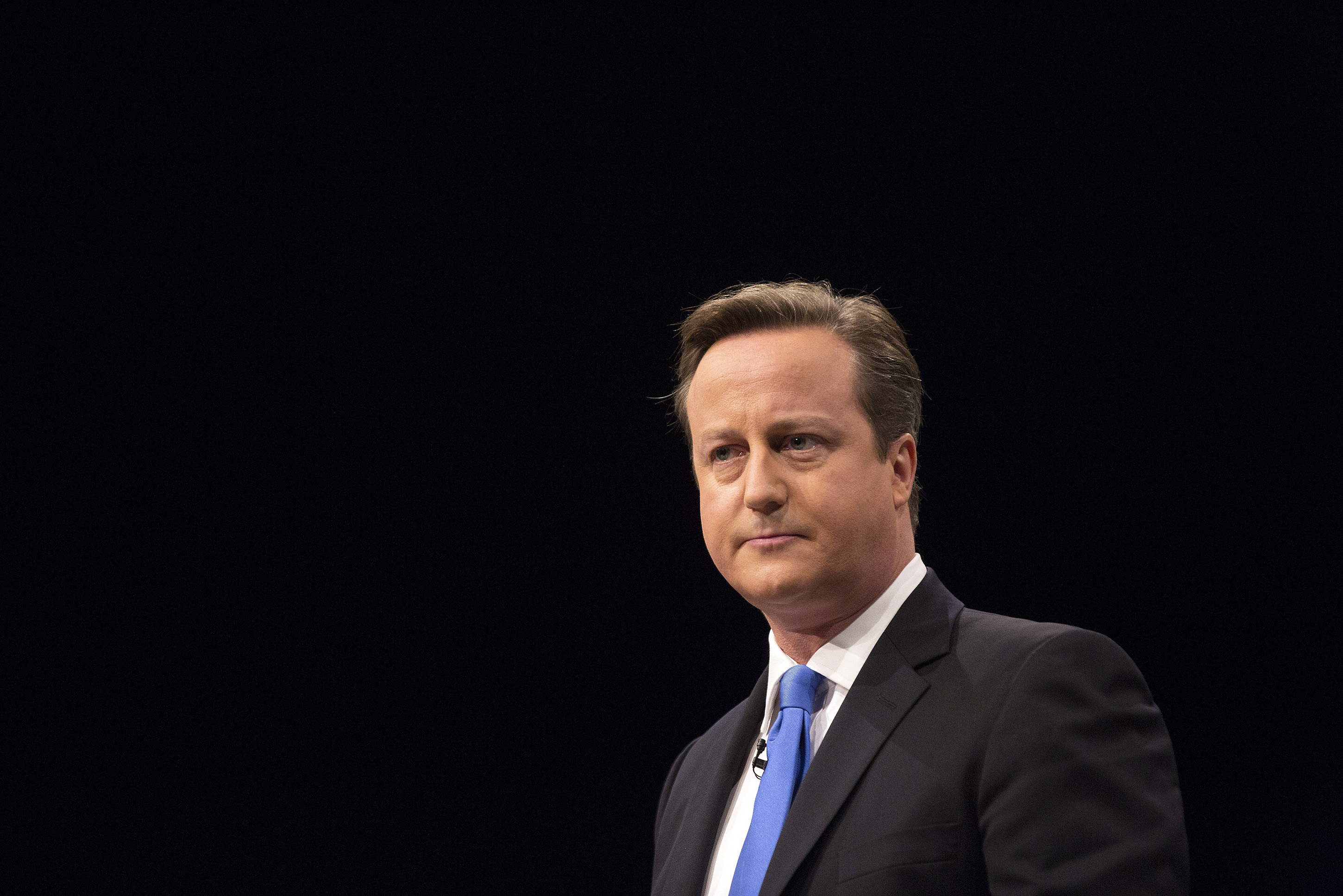 U.K. Prime Minister David Cameron At Conservative Party Conference
