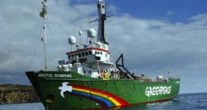 €5,4 млн за якорную стоянку Arctic Sunrise